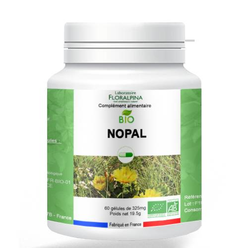 ECOCERT Nopal bio 60 gélules