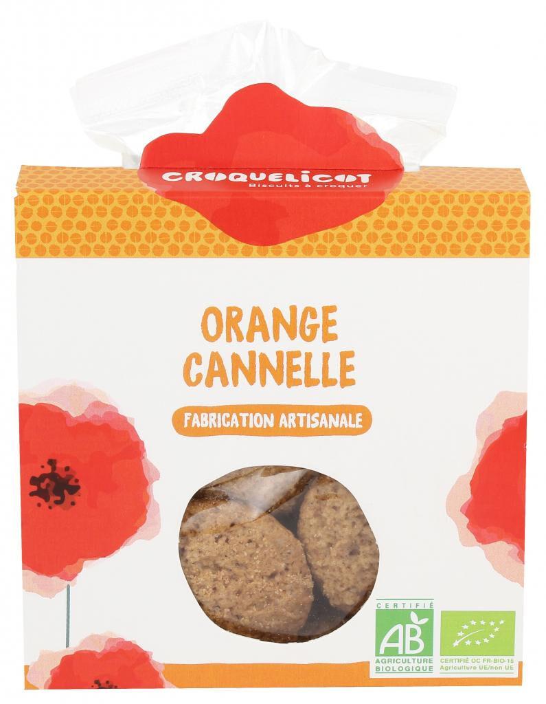 Croquelicot Biscuits Orange Cannelle, biologique, CROQUELICOT