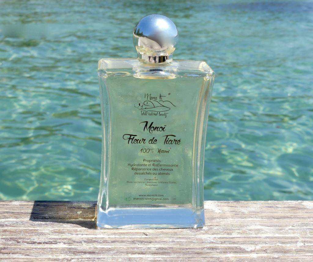 Mana Iti® Tahiti Natural Beauty MONOÏ Fleur de Tiare 100ml