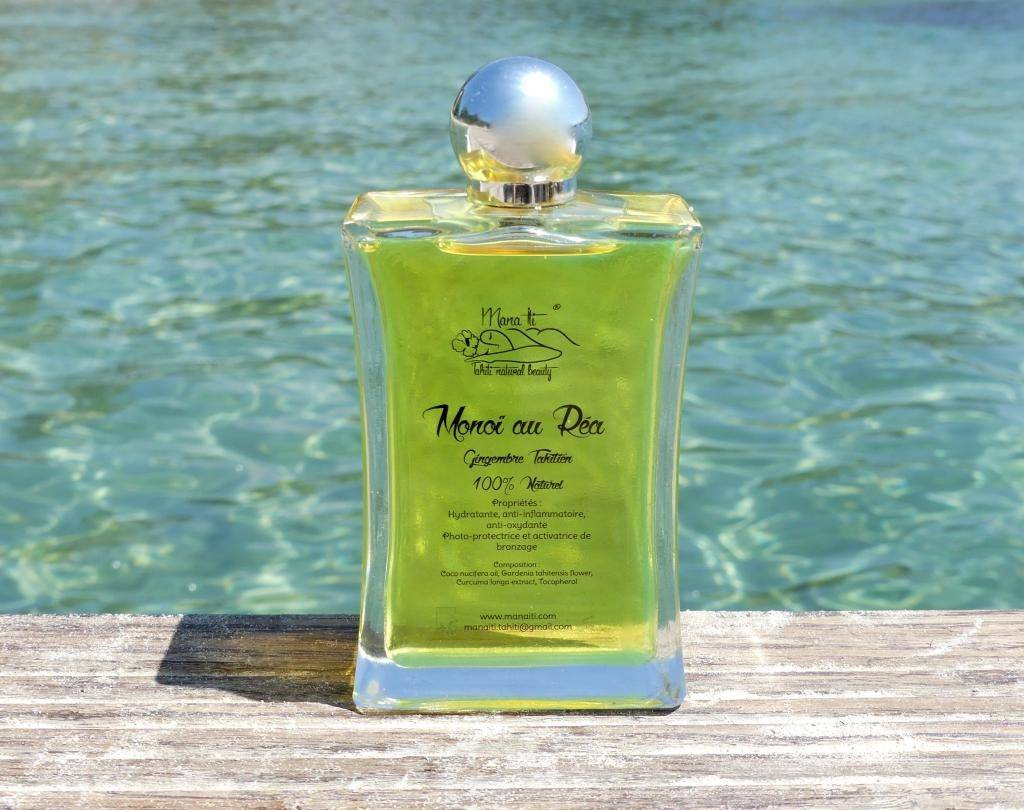 Mana Iti® Tahiti Natural Beauty MONOÏ REA 100ml (Gingembre Tahitien)