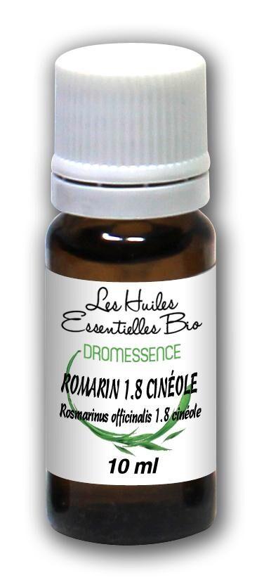Dromessence Huile essentielle Romarin 1.8 cinéole BIO 10 ml DROMESSENCE