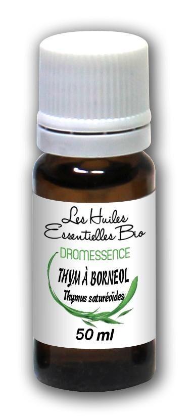 Dromessence Huile essentielle Thym à borneol BIO 50 ml DROMESSENCE