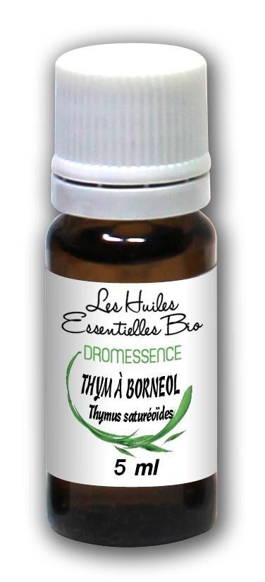 Dromessence Huile essentielle Thym à borneol BIO 5 ml DROMESSENCE
