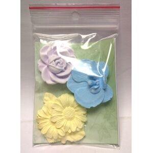 Goutabio Diffuseur d'Huiles Essentielles Fleurs - Lot de 3