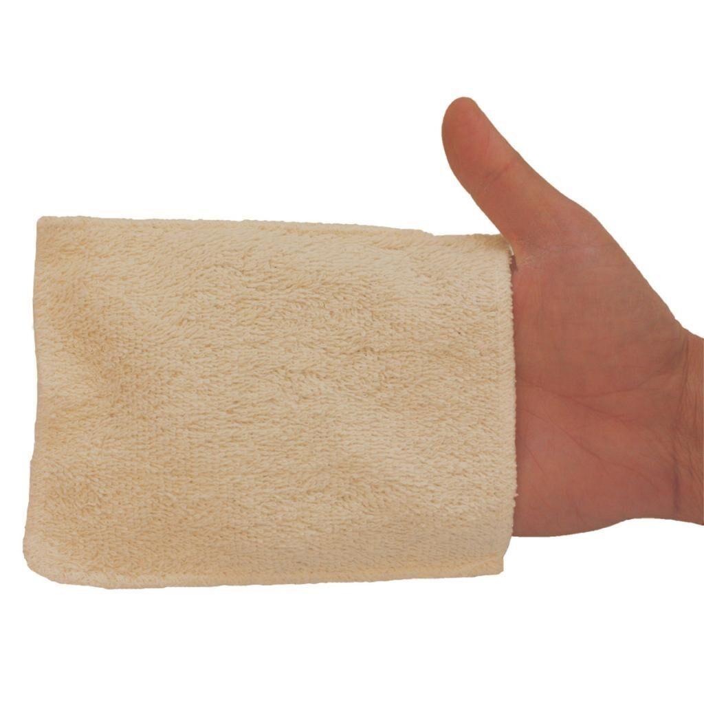 LES TENDANCES D'EMMA 5 gants de change bébé en coton bio biface - gamme eco chou les...