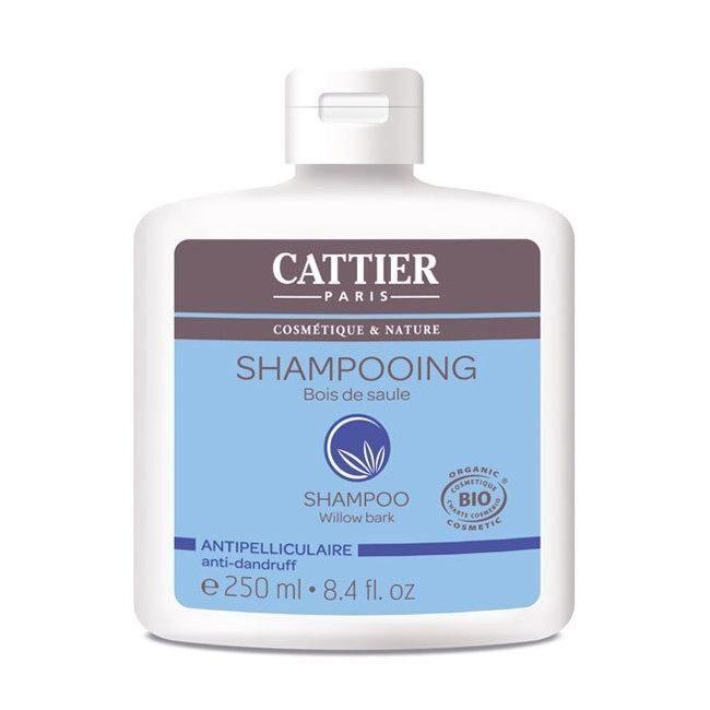 CATTIER - Shampoing Anti pelliculaire bio Bois de Saule 250ml