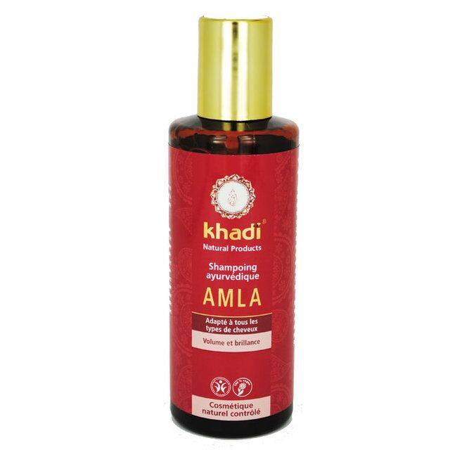 Relais Bio KHADI - Shampoing ayurvédique Amla - Cheveux ternes et fins 210ml