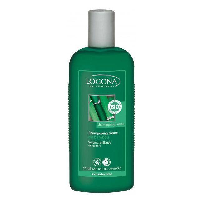 LOGONA - Shampoing Crème bambou bio - Volume et brillance 250ml