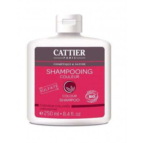 CATTIER Shampooing Couleur Cheveux Colorés - 250ml - CATTIER