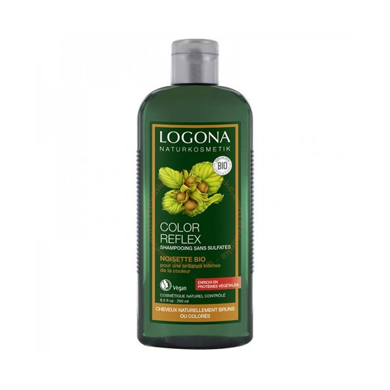 LOGONA Shampooing Color Flex Noisette 250mL-LOGONA