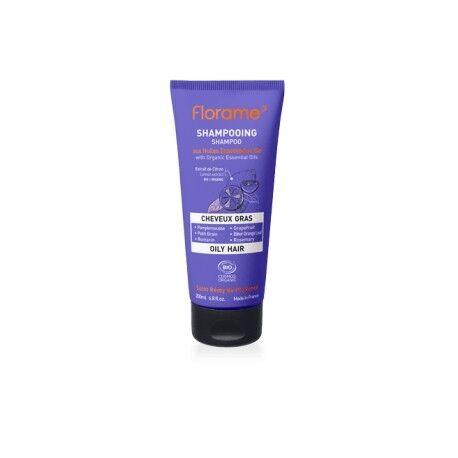 FLORAME Shampoing Cheveux Gras aux HE Bio - 200ml - Florame