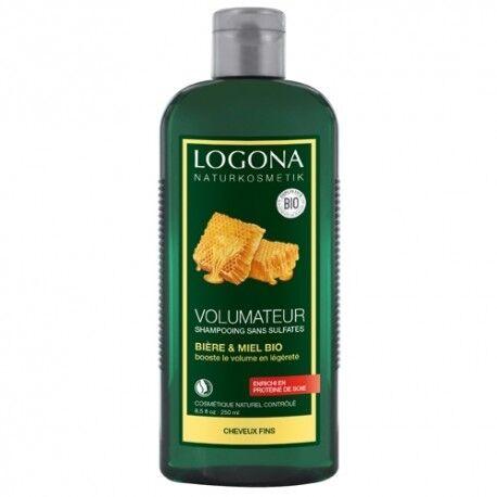 LOGONA Shampooing Volumateur Miel et Bière Bio - 500mL - LOGONA