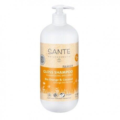 SANTÉ NATURKOSMETIK Shampooing Brillance Bio Orange et Coconut - 950ml -  Santé...