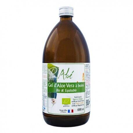 EQUITABLE Gel d'Aloe Vera à Boire Bio et Equitable - 1000ml - Pur Aloé