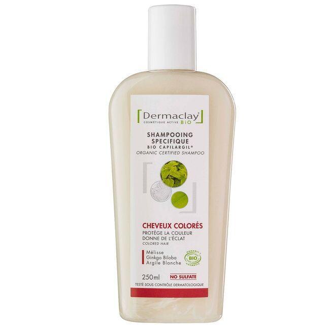 DERMACLAY - Shampoing Bio Capilargil Cheveux Colorés 250ml