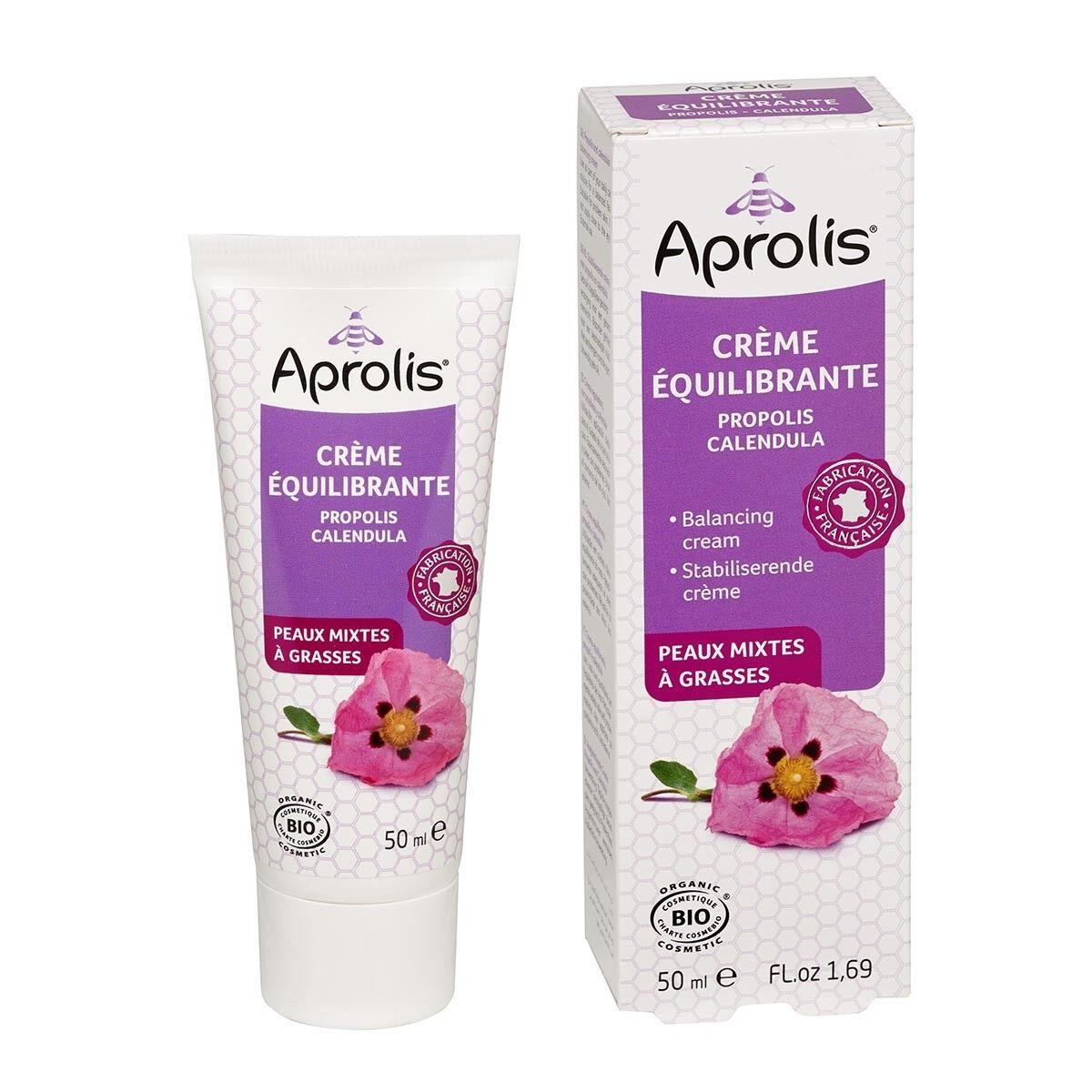 APROLIS Crème Equilibrante Propolis-Calendula 50ml Bio - Aprolis