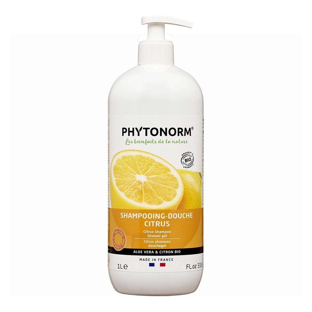 ECOCERT Shampooing-Douche Citrus 1L Bio - Phytonorm