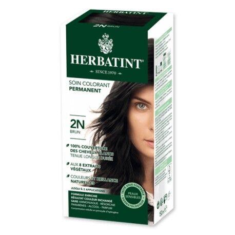 HERBATINT Coloration Cheveux Naturelle 2N Brun - 150ml - Herbatint