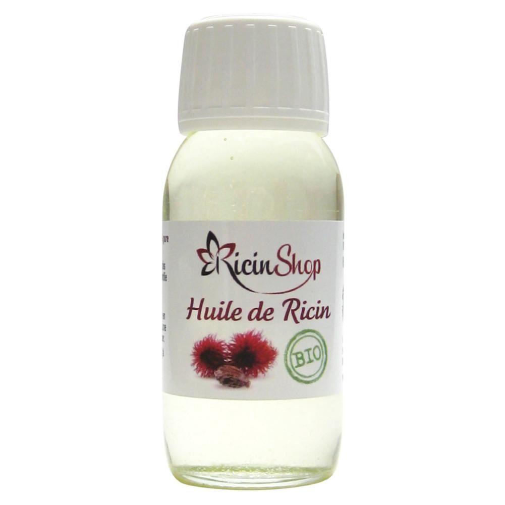 Ollis Huile de ricin Bio 60ml Qualité Premium Ricinshop