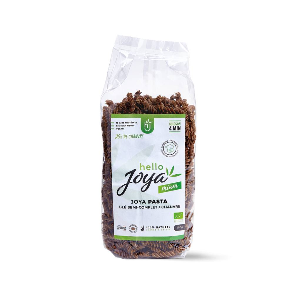 Green Leaf Company Pâtes Bio Blé Semi-complet / Chanvre Hello Joya