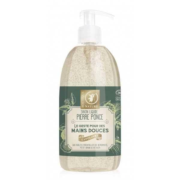 BOUTIQUE NATURE Savon liquide exfoliant BIO - 500 ml - Boutique Nature