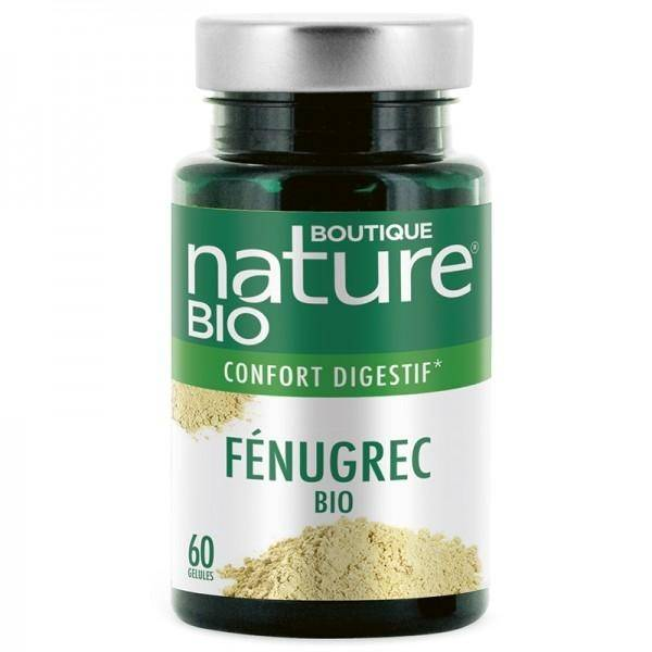 BOUTIQUE NATURE Fenugrec BIO - 60 gélules - Boutique Nature