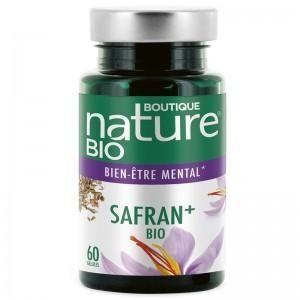 BOUTIQUE NATURE Safran + Bio - 60 gélules - Boutique Nature