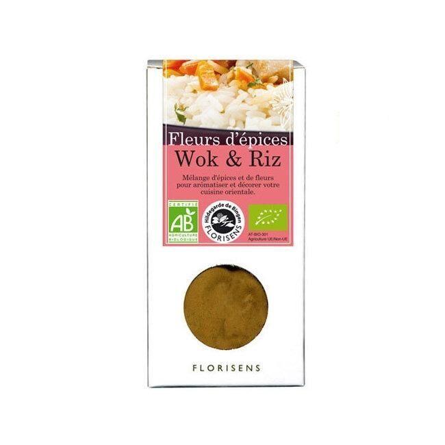 ENCENS DU MONDE HILDEGARDE DE BINGEN - Fleurs d'épices bio Wok et riz 48g