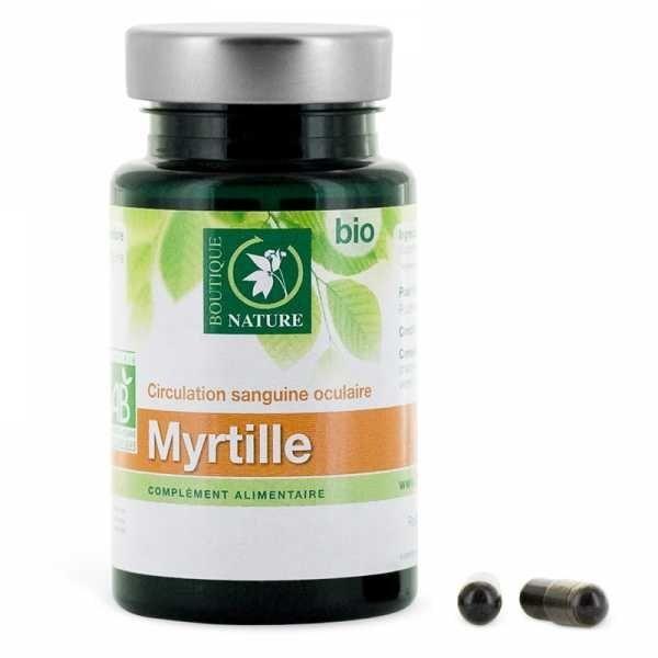 BOUTIQUE NATURE Myrtille BIO - 60 gélules - Boutique Nature