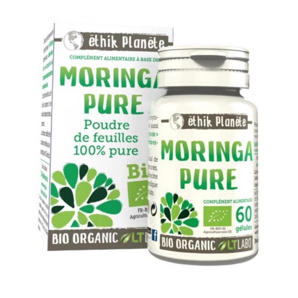 LT LABO Moringa Pure BIO - LT Labo - 60 Gélules