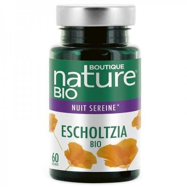 BOUTIQUE NATURE Escholtzia Bio - 60 gélules - Boutique Nature