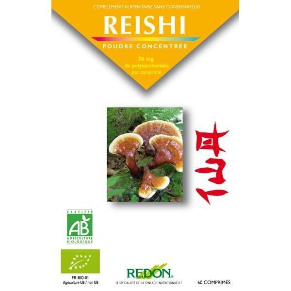 LABORATOIRE REDON Reishi Bio - 60 comprimés - Laboratoire Redon .