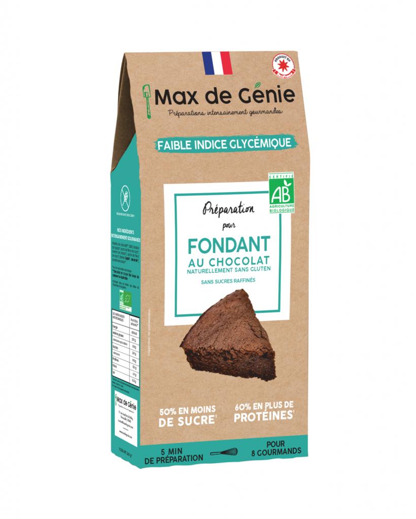 Fee Natura Préparation Bio Fondant au Chocolat à Indice Glycémique Bas et...
