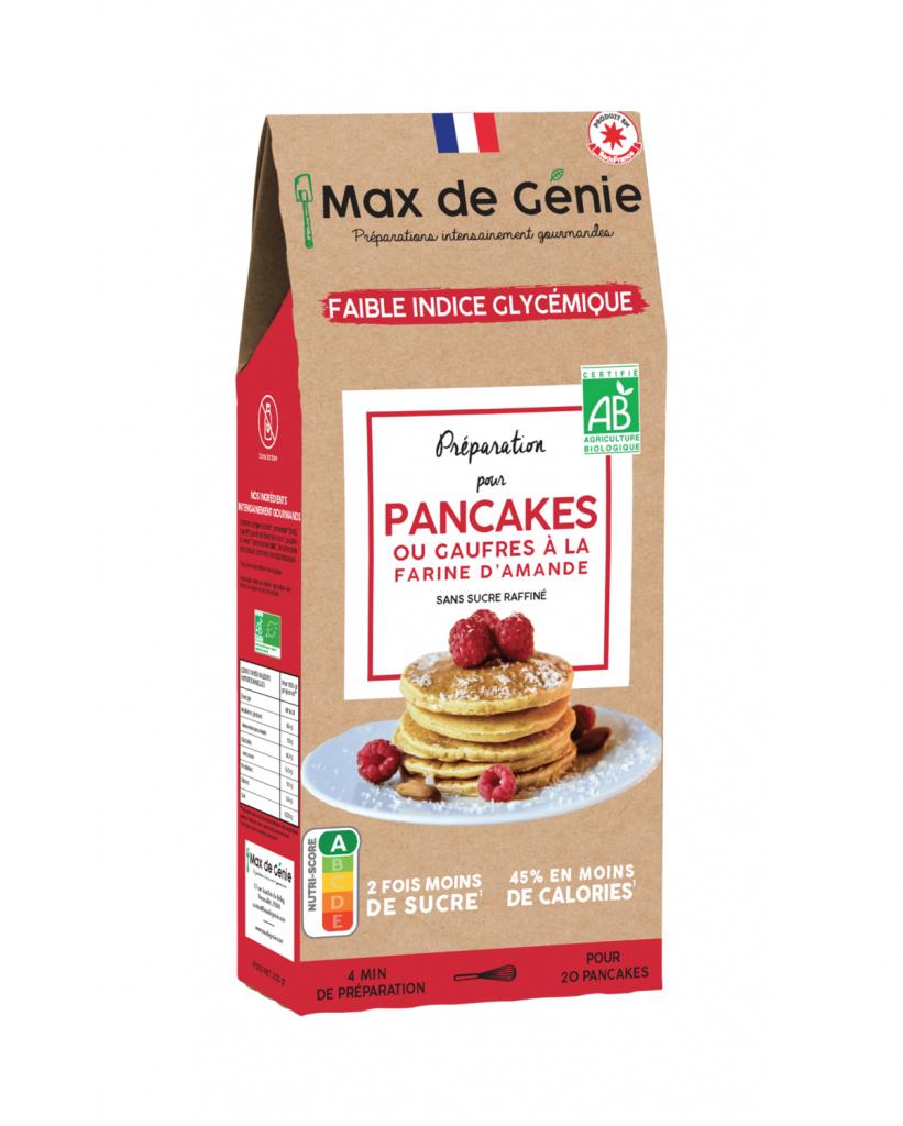 Fee Natura Préparation Bio Pancakes ou Gaufres à indice glycémique Bas - 300 G