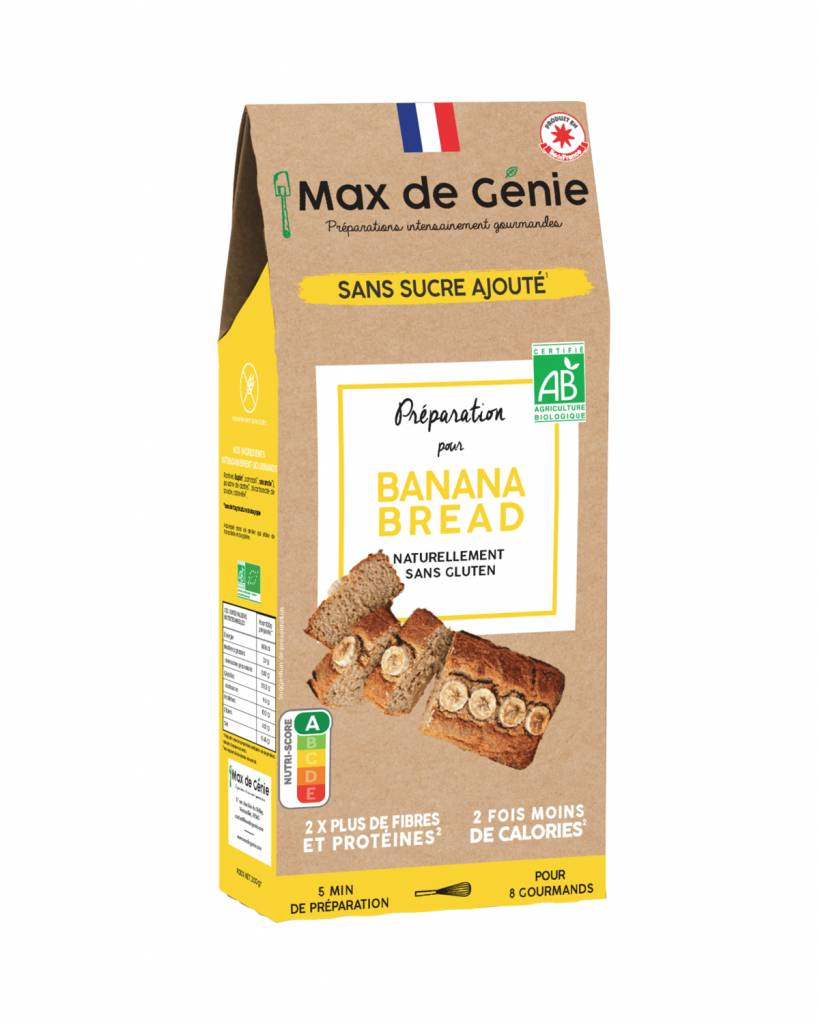 Fee Natura Préparation BIO pour Banana Bread à indice glycémique bas et...