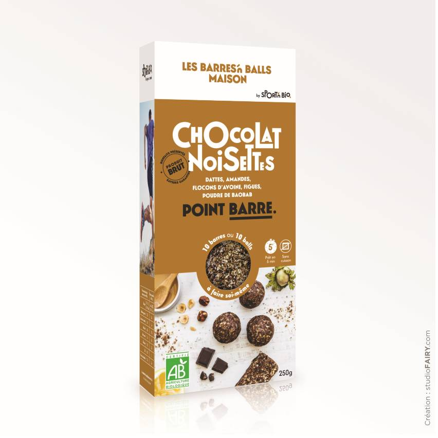 Fee Natura Kit Energy Ball Maison - Chocolat noisettes - 250 g
