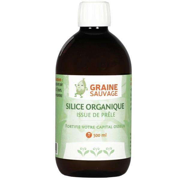 GRAINE SAUVAGE Silice Organique issue de Prêle - 500 ml - Graine Sauvage