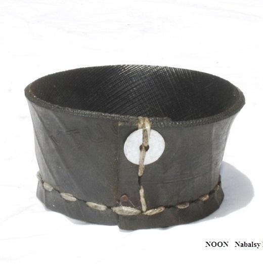 Nabalsy Porte savon - Noir d'éco pneu recyclé