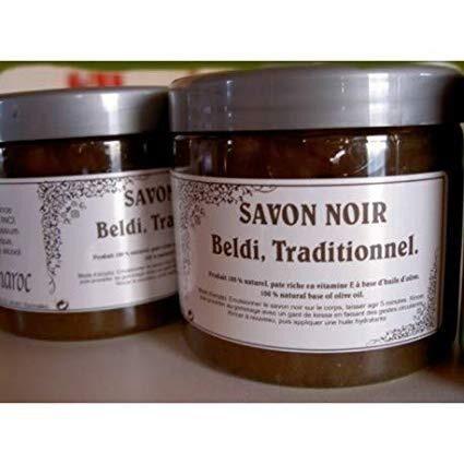 Les Essentiels D'isabelle Savon noir authentique 200ml