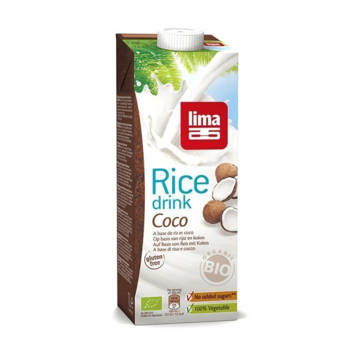Les Délices De Sarah Rice drink coco 1l LIMA