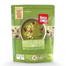 Les Délices De Sarah Soupe et céréales asia 50cl LIMA