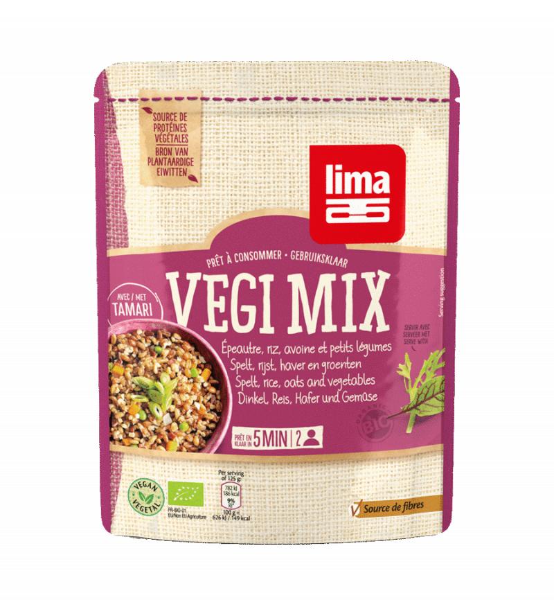 Les Délices De Sarah Végi mix épeautre, riz, avoine et petits légumes 250g LIMA