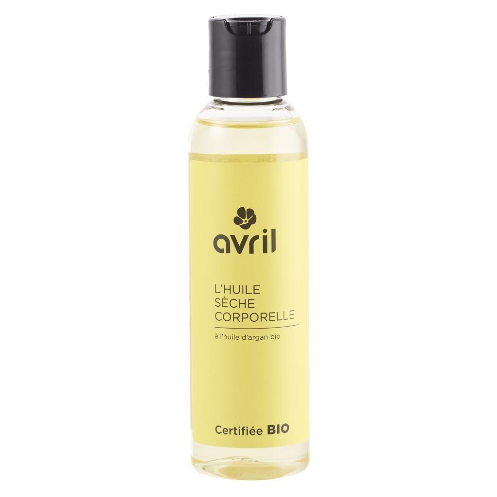 ECOCERT Huile sèche corporelle à l'huile d'argan bio - 150 ml - Avril