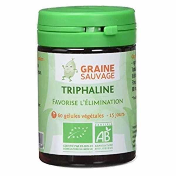 ECOCERT Triphaline BIO - Graine Sauvage - 60 Gélules