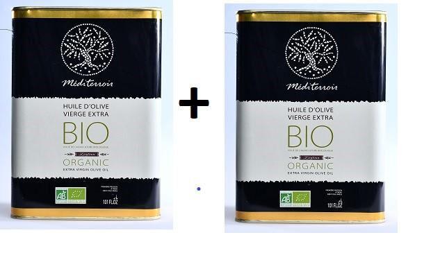 Comptoir D'ailleurs Huile d'Olive Vierge Extra BIO de Tunisie de la marque MEDITERROIR...