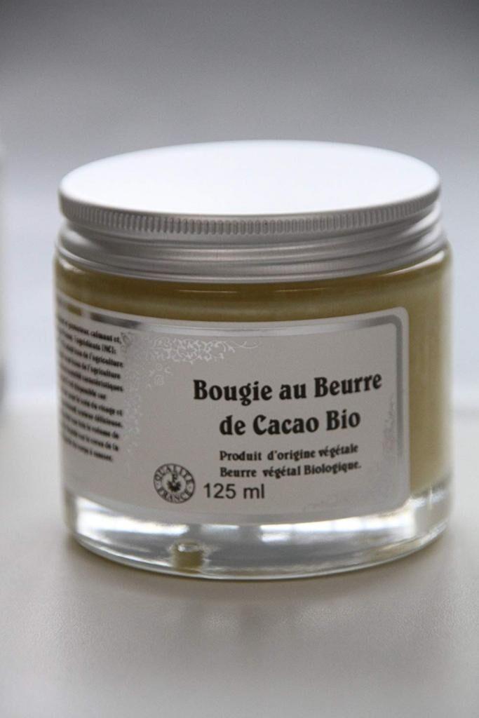 Les Essentiels D'isabelle Bougie de massage au beurre de cacao biologique
