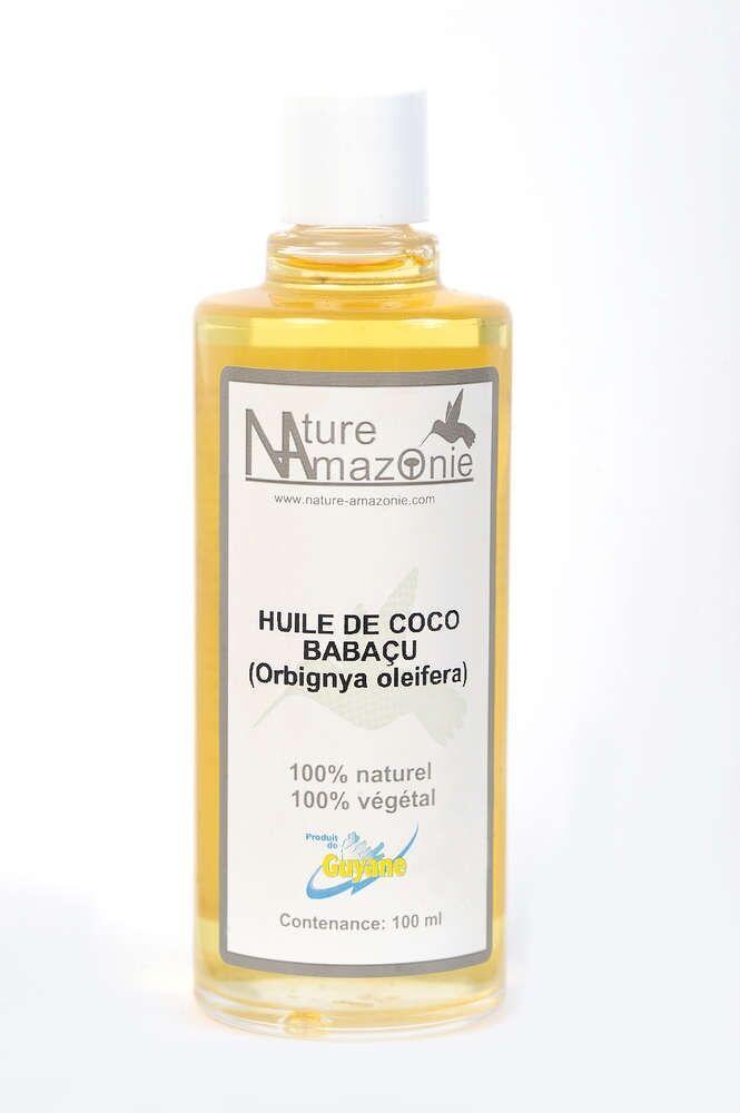 Nature Amazonie Distribution Production Huile de coco Babaçu 30ml