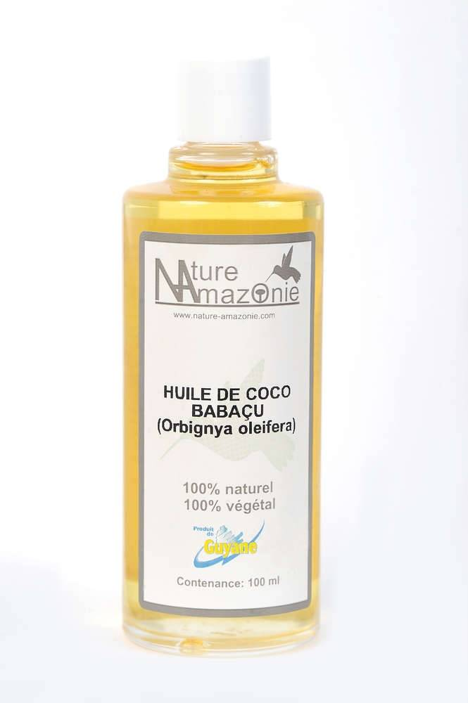 Nature Amazonie Distribution Production Huile de coco Babaçu 100ml