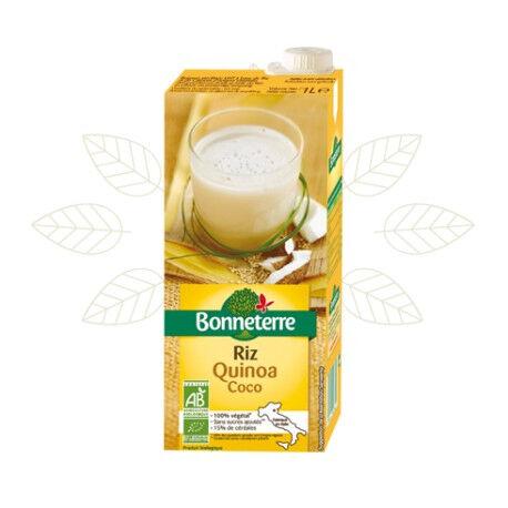 BONNETERRE Boisson végétale au Riz Quinoa Coco 1L-Bonneterre