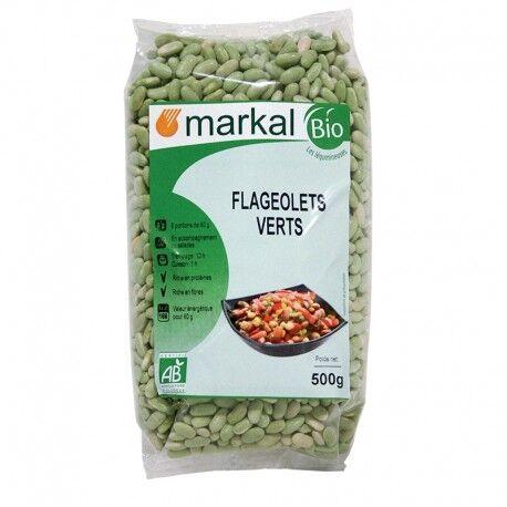 MARKAL Flageolets Verts 500g-Markal